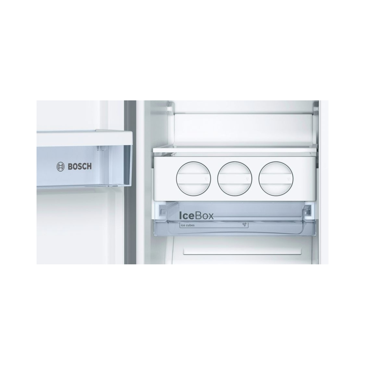 Tủ lạnh side by side BOSCH KAN92VI35O serie 4